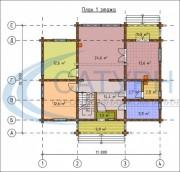 Проект Классик - План 1 этажа